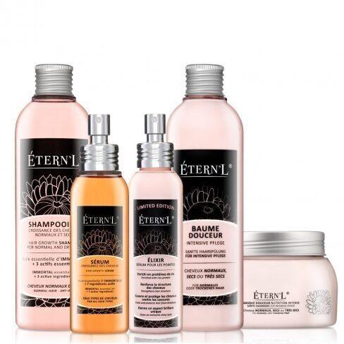 Etern'l - Haarwachstumstheraphie Max Set + Elixir Mit Reisprotein